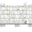 Nicolás San Juan / Taller 13 Arquitectura Regenerativa Elevación
