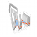 118 Subsidized dwellings, offices, retail spaces and garage / Amann Canovas Maruri Diagrama 1