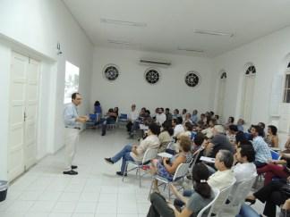 Diálogo com moradores das Graças. Junho de 2015
