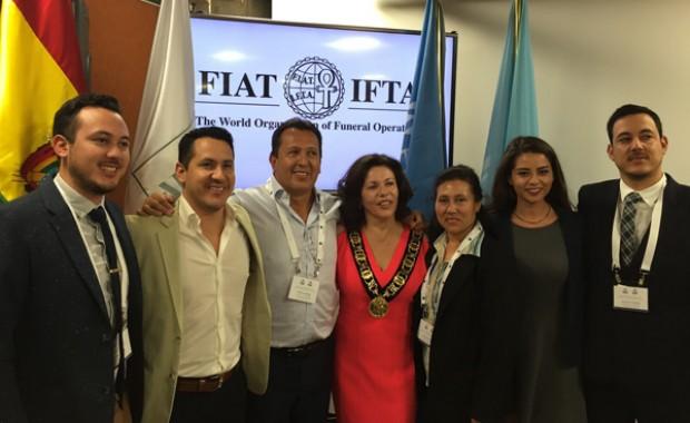 Boliviana preside organización internacional