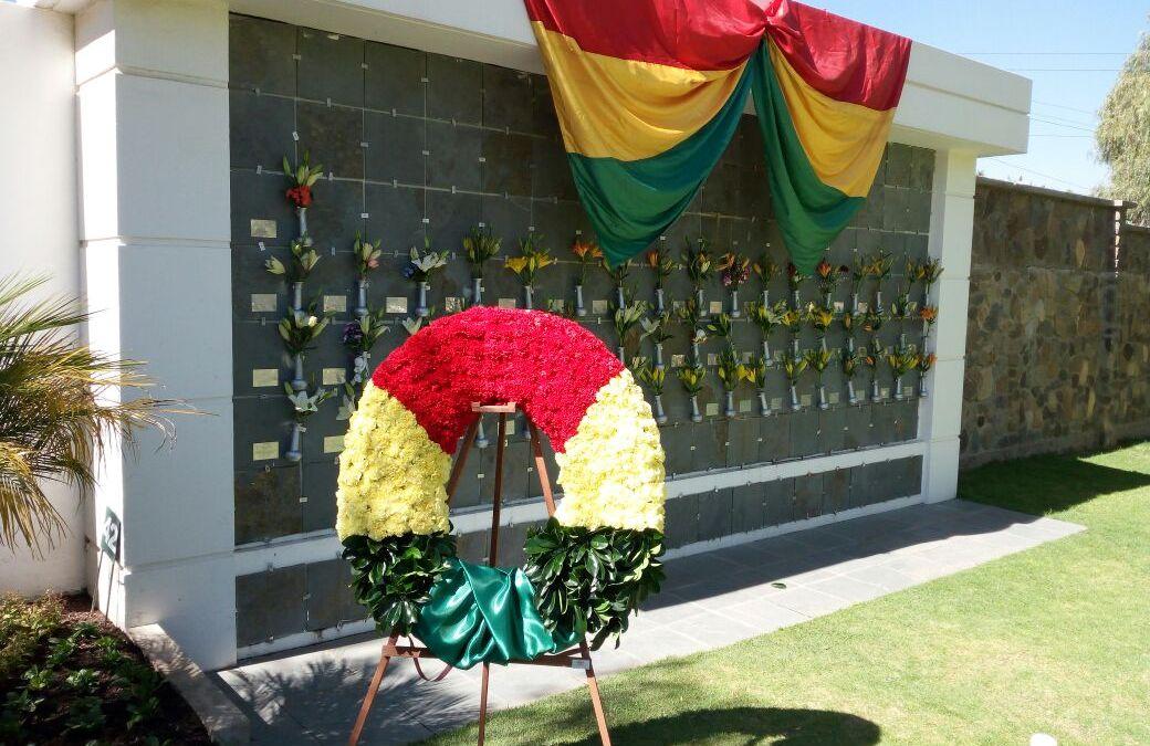 Conmemoración Día Beneméritos