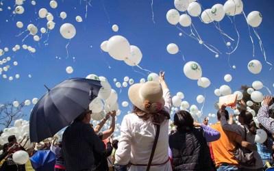 Celebración de la Vida en Parque de las Memorias