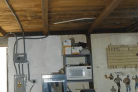 Mejora en la bodega de mantenimiento 2016