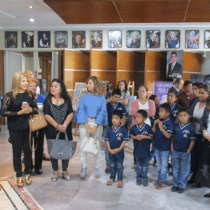 Inauguracion Exposicion de Pintura Hogares Calasanz 2017