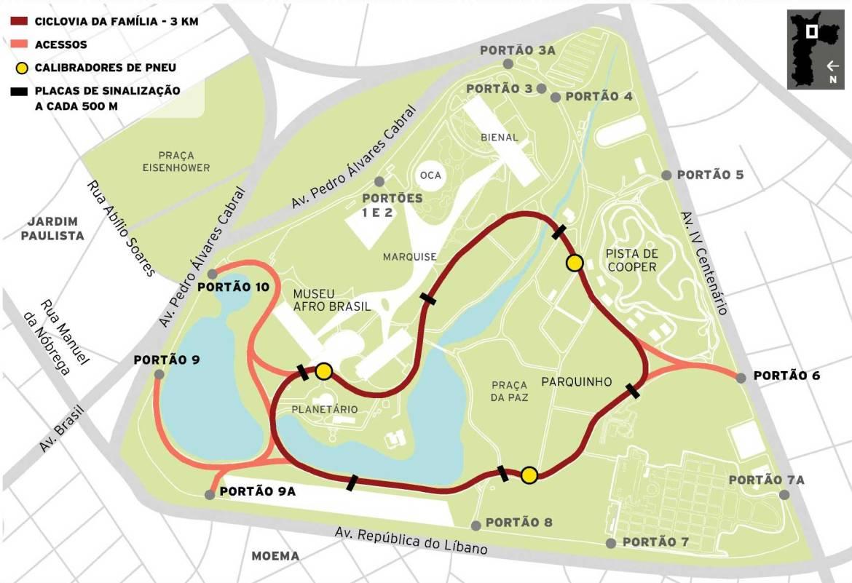Ciclovia Parque Ibirapuera