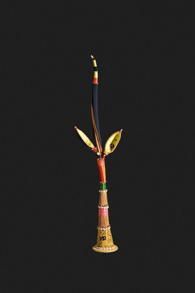 Igi obá Nilé – Árvore do Rei da Terra, 2000, Técnica mista