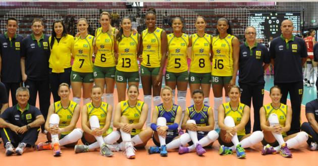 Seleção Brasileira Vôlei Feminino 2015