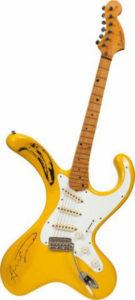 Guitarra Andy Warhol. Divulgação