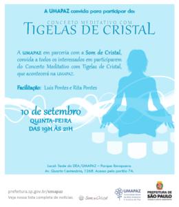 Concerto Meditativo com Tigelas de Cristal
