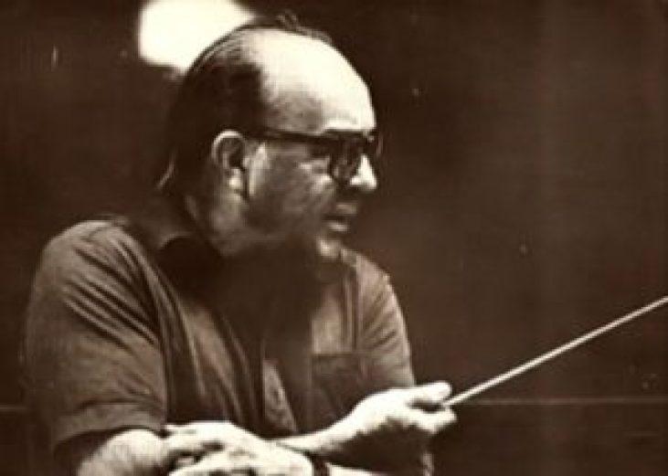 O compositor Claudio Santoro (foto sem data, autor desconhecido).