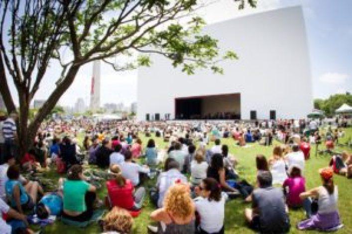 Concerto da Orquestra Sinfônica do Estado de São Paulo no Ibirapuera, 2012 (Foto: http://www.auditorioibirapuera.com.br/)