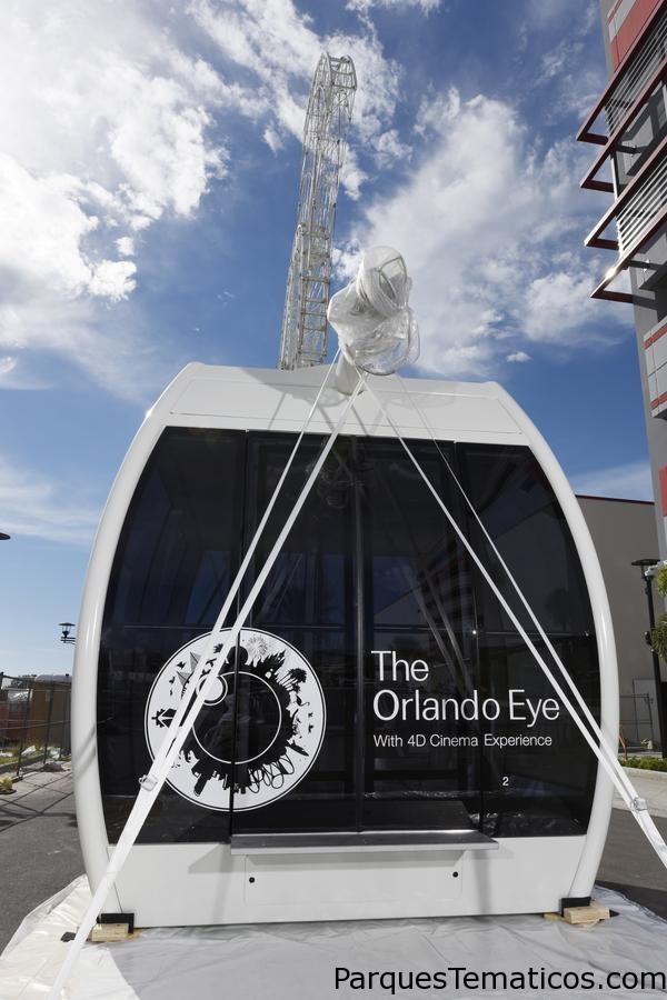 Orlando Eye nos muestra como es la capsula para los pasajeros