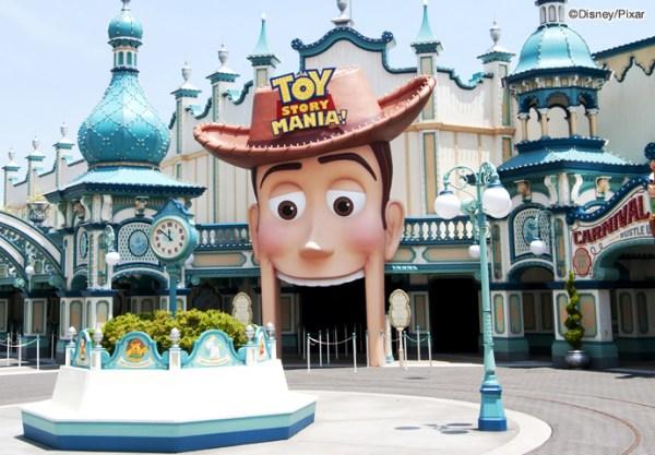 Toy Story Mania en Tokyo DisneySea