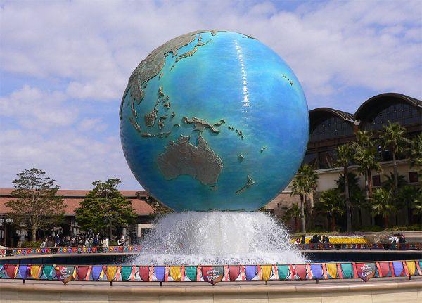 El símbolo DisneySea Aquasphere