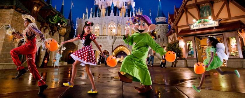 Mickey's Not-So-Scary Halloween Party - Parque Temático Magic Kingdom
