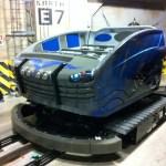 Transformers Ride el vehículo donde transcurre la atracción 3D