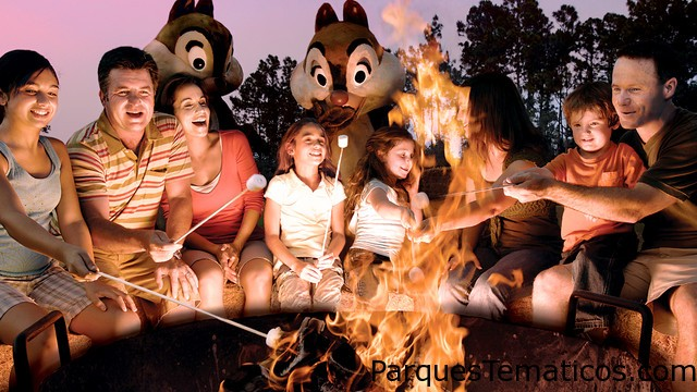The Campsites at Disney's Fort Wilderness Resort