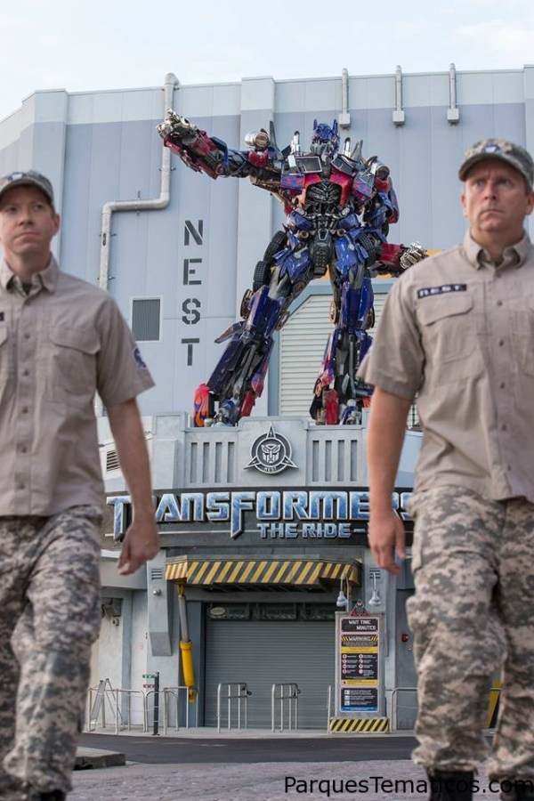 TRANSFORMERS: The Ride 3D llega Universal Orlando