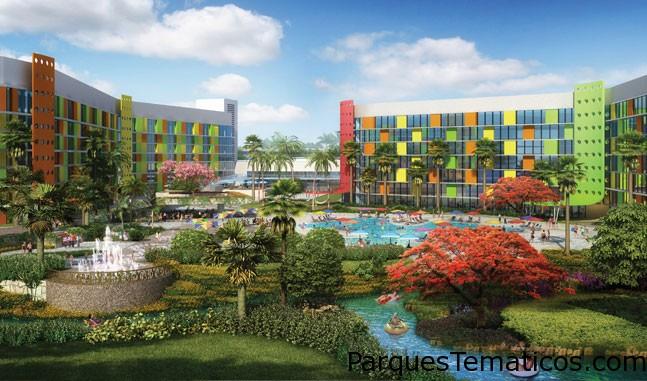 Hotel Universal's Cabana Bay Beach Resort