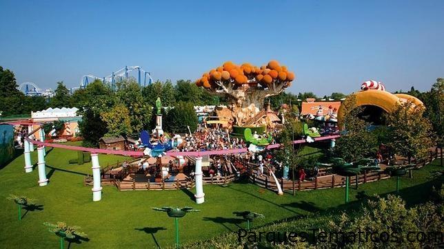 Parque Gardaland, Castelnuovo del Garda en Italia