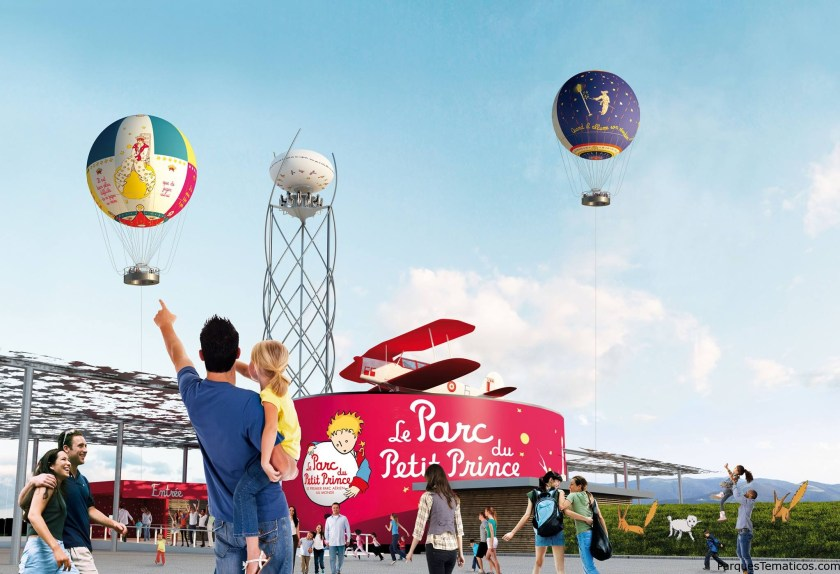 """Aérophile es una empresa francesa especializada en los """"globos cautivos"""". La compañía opera los de Disneyland Paris (Panoramagique) y Walt Disney World, entre otros. Pero, con Parc du Petit Prince, es la primera vez que gestionan un parque temático."""
