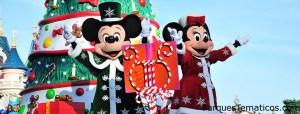Mickey en Paris en Navidad