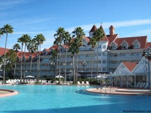 Piscina de lujo en Disney's Grand Floridian Resort & Spa