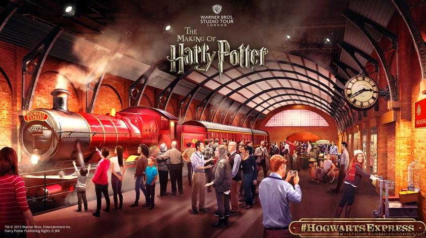 Hogwarts Express, se inaugura la nueva expansión el 19 de marzo de 2015!
