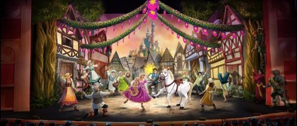 Tangled el Musical llegá a los Cruceros Disney