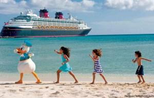 El Crucero Disney en la playa privada Castaway