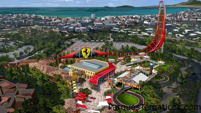 Llega a PortAventura FerrariLand