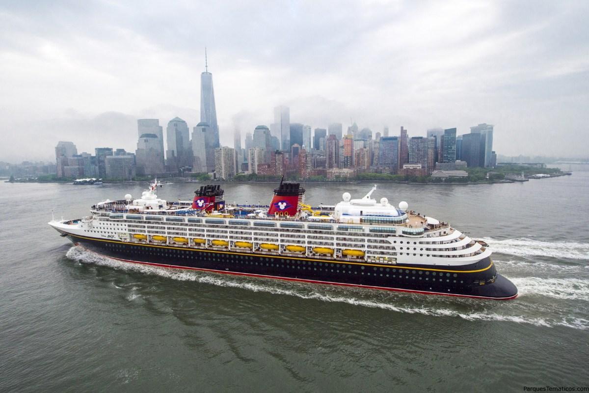 Disney Cruise Line a New York y Gavelston en 2016