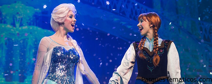 Verano Frozen en Disneyland Paris