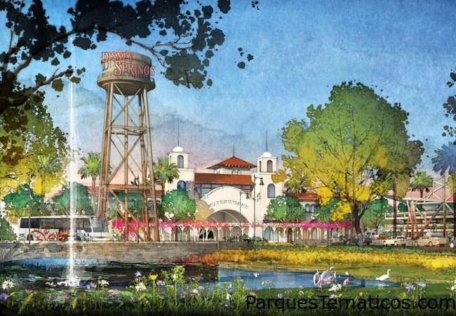 Walt Disney World Resort se encuentra desarrollando la transformación de varios años de Downtown Disney en Disney Springs. Con una mezcla ecléctica y contemporánea de Disney y otras marcas notables , esta nueva expansión se duplicará el número de tiendas , restaurantes y otros lugares para los clientes a explorar , a más de 150 establecimientos. Nuevos inquilinos minoristas incluyen APEX por Sunglass Hut, Art of Shaving , Capilla Sombreros, de Erin McKenna Panadería NYC , Havaianas , Sanuk y Sonido León . La nueva zona se abrirá en fases con finalización prevista en 2016 .