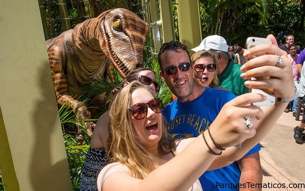Encuentro con Dinosaurios en Universal´s Islands of Adventure
