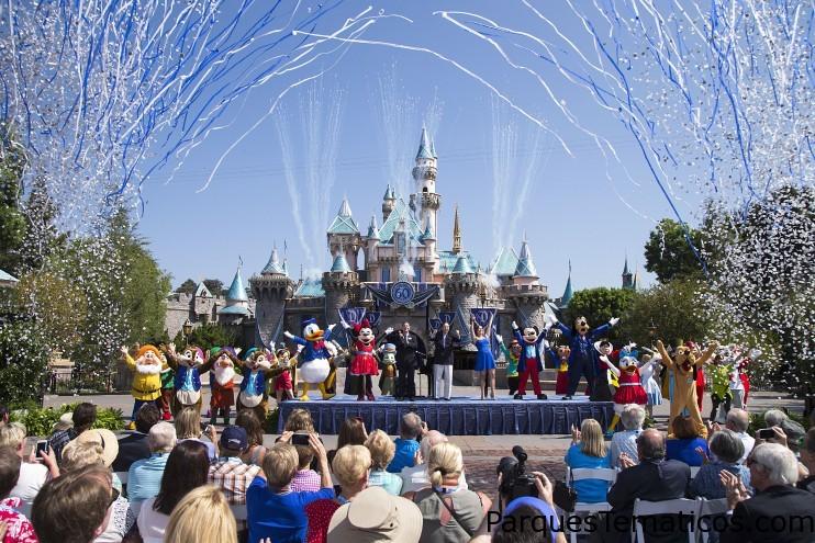 """Disneyland Resort Celebra su 60 Aniversario; Anuncia el programa """"Million Dollar Dazzle"""" que beneficiará a organizaciones locales sin fines de lucro, cada mes durante la celebración de diamante"""