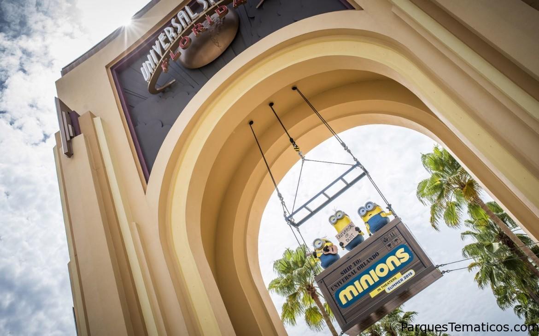 Un verano de locura Minions en Universal Studios