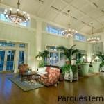Lobby del sector Villas de BoardWalk