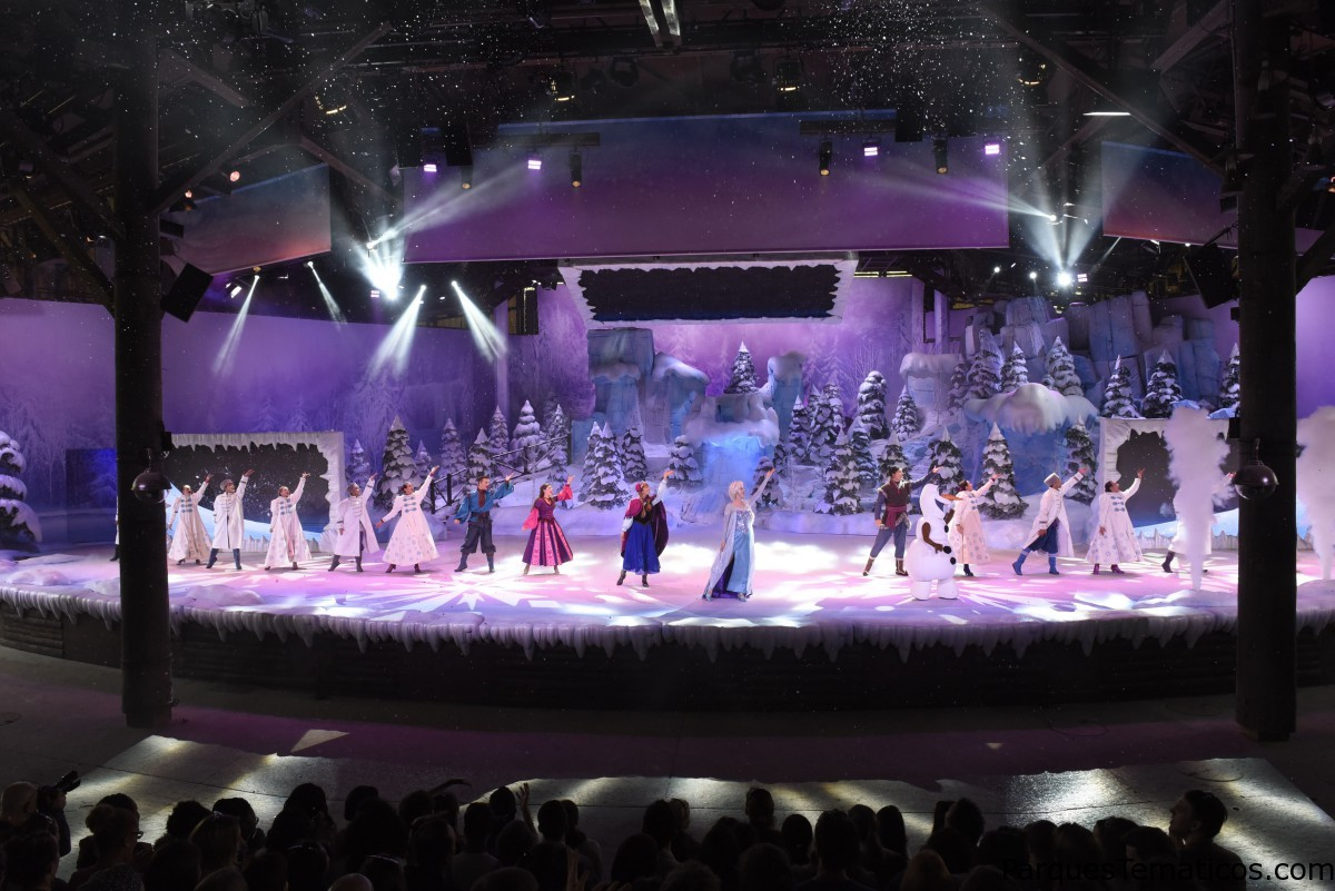 Curiosidades del Show Frozen Sing-Along Paris