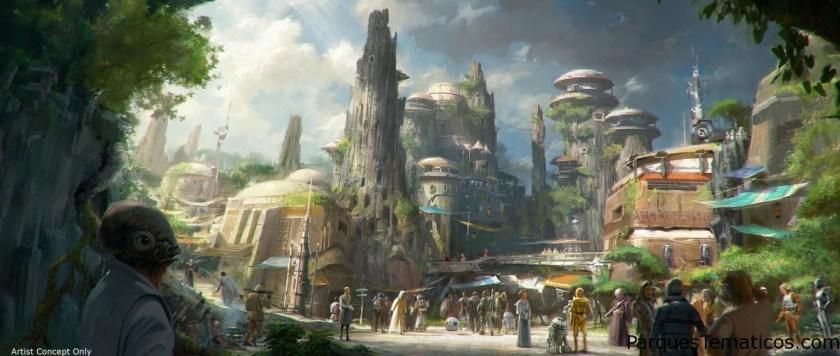Novedades de Star Wars en Disneylandia y Disney World