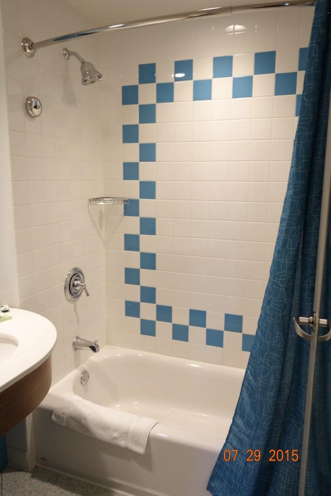 Parte del baño compartimentado