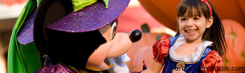 Mickey's Halloween Party en Disney California 2015