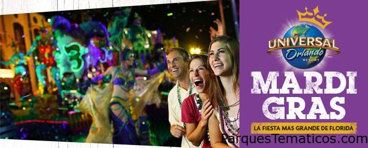 Universal's Grad Bash, Middle School Gradventure y Mardi Gras en Orlando