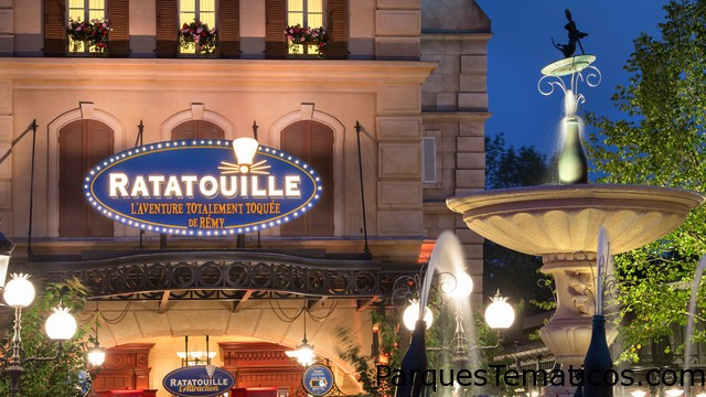 Ratatouille 4D, festeja 1 millón de visitas en París