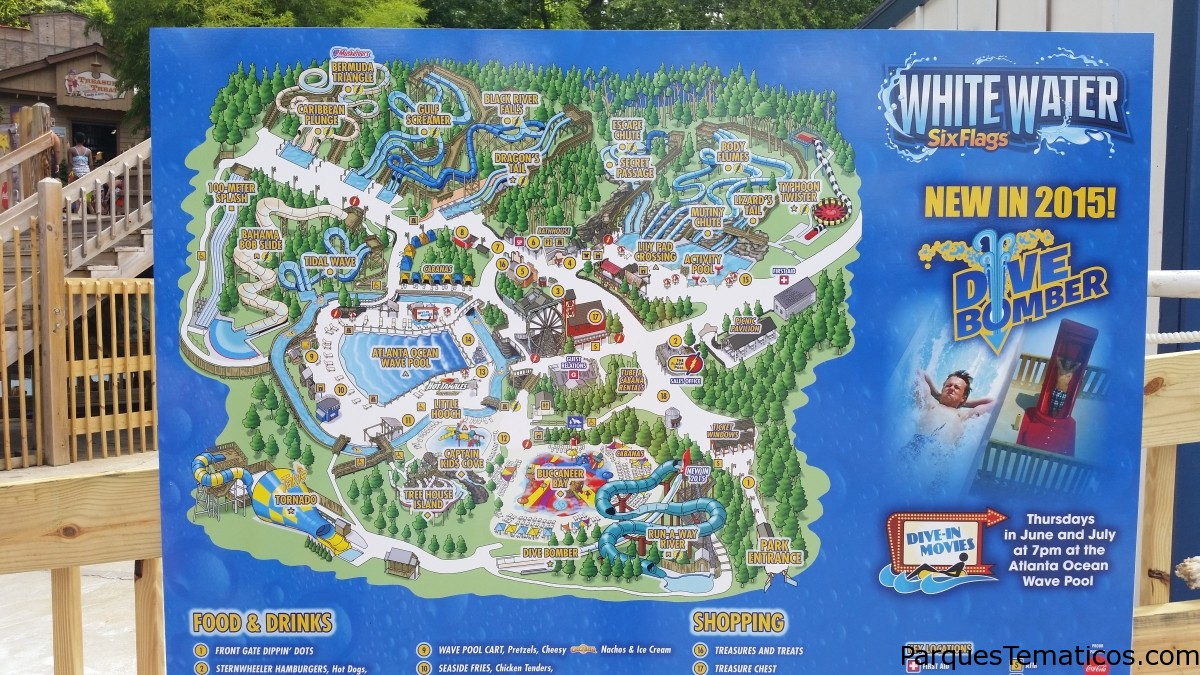 Parques acuáticos en los Estados Unidos