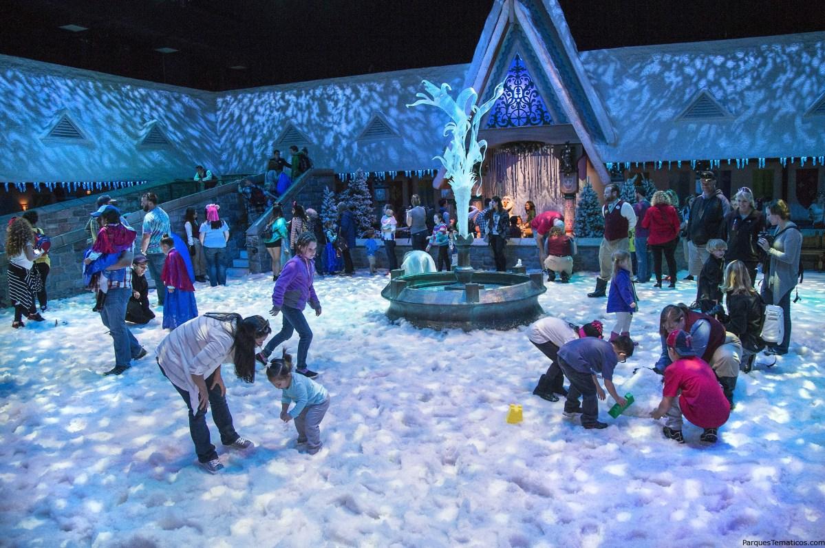 Curiosidades en Disneylandia para las Navidades