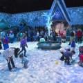 Olaf's Snow Fest, es un festejo en la nieve artificial más divertida de todo California
