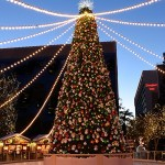 Aldea Invernal en Downtown Disneylandia, California