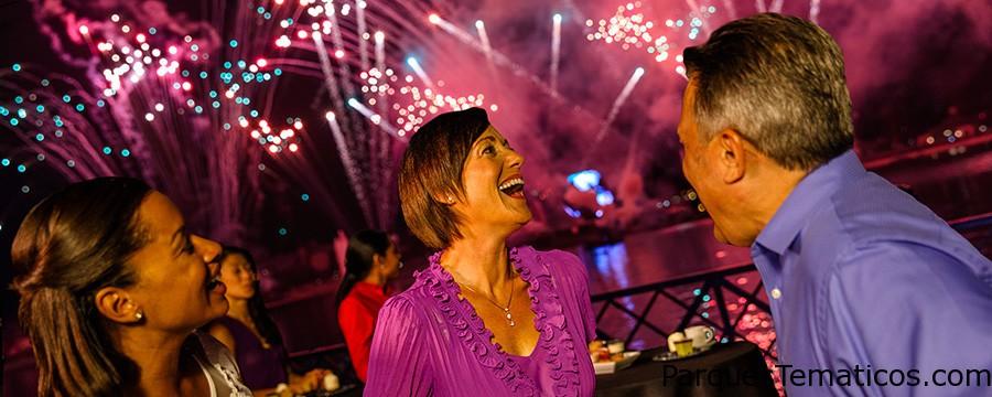 IllumiNations Sparkling fiesta de postres en Epcot