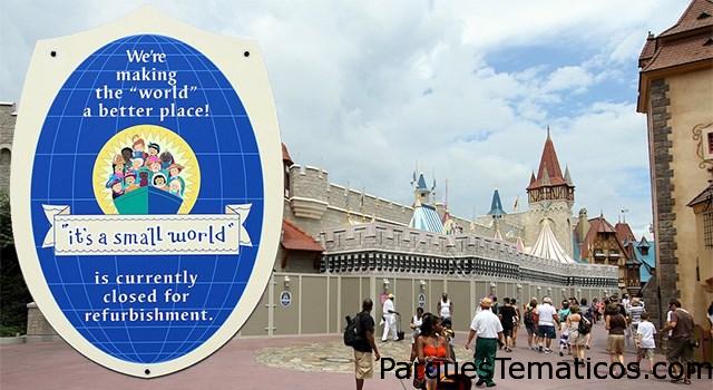 Calendario de juegos cerrados en Disney en 2016